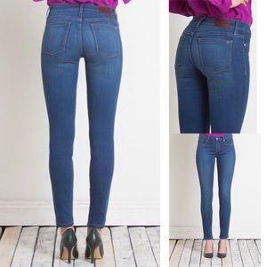 Henry & Belle Super Skinny Ankle Mid Rise Jeans